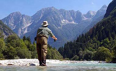Fly fishing in Europe with Club Fish World
